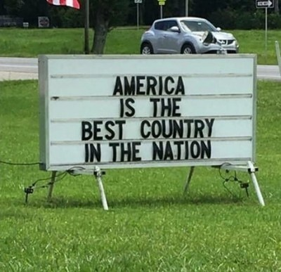 America Is The Best Nation